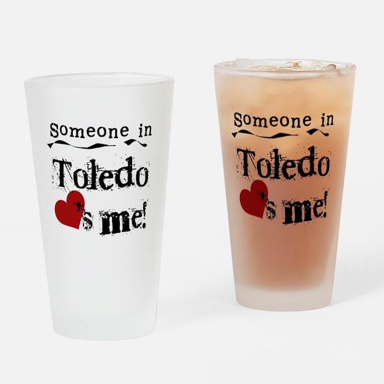 Toledo Loves Me Pint Glass