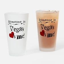 Vegas Loves Me Pint Glass