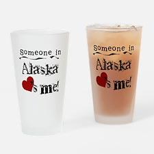 Alaska Loves Me Pint Glass