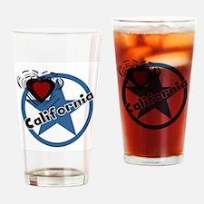 Love California Pint Glass