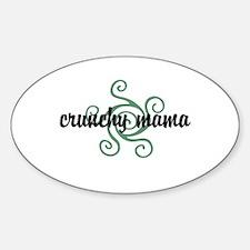 Crunchy mama Decal