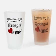 Someone in Georgia Pint Glass