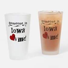 Someone in Iowa Pint Glass