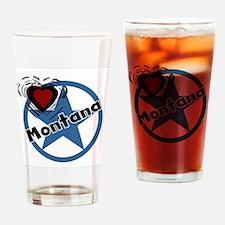 Love Montana Pint Glass