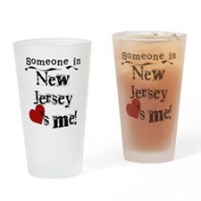 Someone in New Jersey Pint Glass