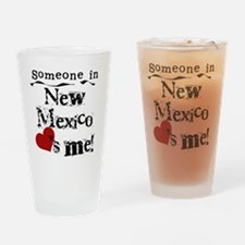 New Mexico Loves Me Pint Glass