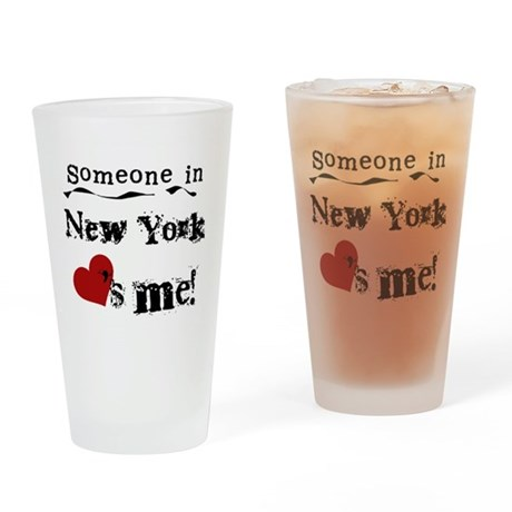 Someone in New York Pint Glass