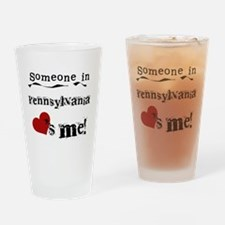 Someone in Pennsylvania Pint Glass