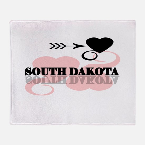 South Dakota Throw Blanket