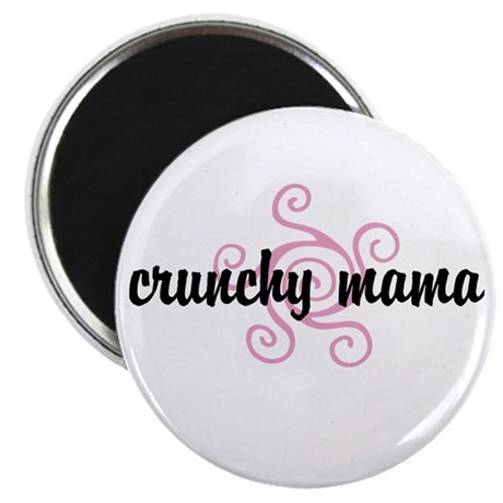 "crunchy mama 2.25"" Magnet (100 pack)"