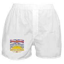 British Columbia Pride Boxer Shorts