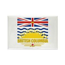 British Columbia Pride Rectangle Magnet