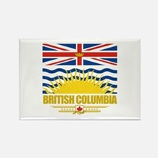 British Columbia Pride Rectangle Magnet