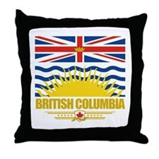 British Columbia Pride Throw Pillow