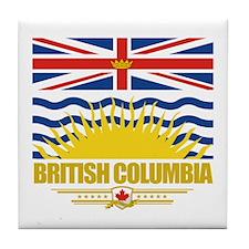 British Columbia Pride Tile Coaster