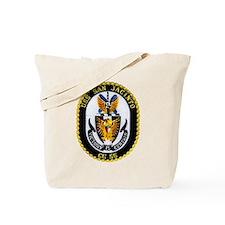 USS San Jacinto CG 56 Tote Bag