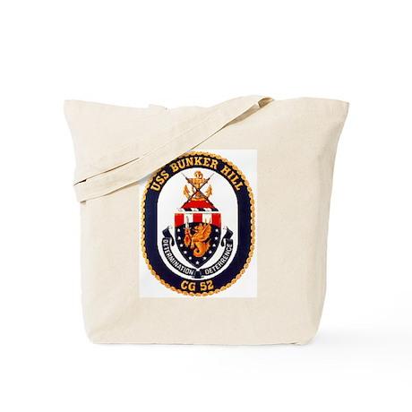 USS Bunker Hill CG 52 Tote Bag