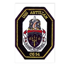 USS Antietam CG 54 Postcards (Package of 8)