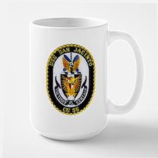 USS San Jacinto CG 56 Large Mug