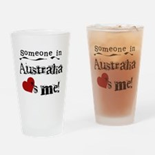 Australia Loves Me Pint Glass