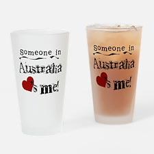 Australia Loves Me Pint Glass