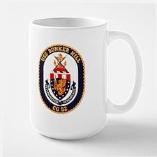 USS Bunker Hill CG 52 Large Mug