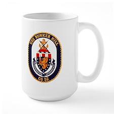 USS Bunker Hill CG 52 Mug