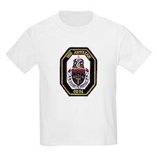 USS Antietam CG 54 Kids T-Shirt
