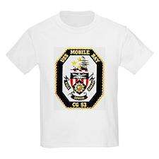 USS Mobile Bay CG-53 Kids T-Shirt