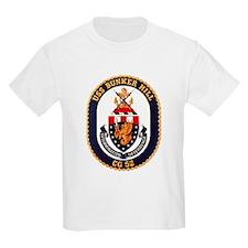 USS Bunker Hill CG 52 Kids T-Shirt