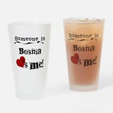 Bosnia Loves Me Pint Glass