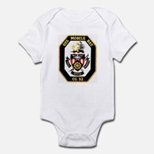 USS Mobile Bay CG-53 Infant Creeper