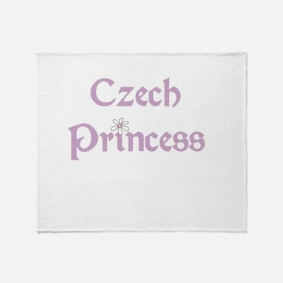 Czech Princess Throw Blanket
