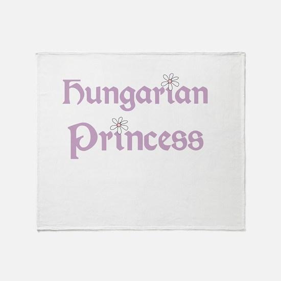 Cute Hungarian Throw Blanket