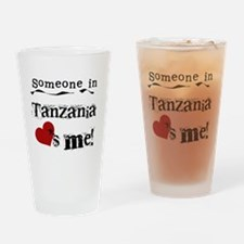Tanzania Loves Me Pint Glass