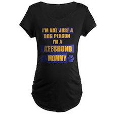 Keeshound Mommy T-Shirt
