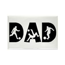 Soccer Dad Rectangle Magnet