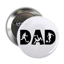 """Soccer Dad 2.25"""" Button (10 pack)"""