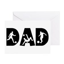 Soccer Dad Greeting Cards (Pk of 10)