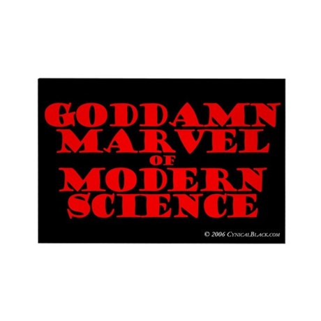 Modern Science Rectangle Magnet (100 pack)
