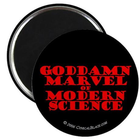 "Modern Science 2.25"" Magnet (10 pack)"