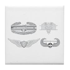 CAB EFMB Flight Surgeon Air Assault Tile Coaster