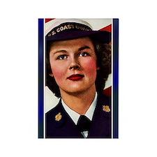Vintage Coast Guard Rectangle Magnet