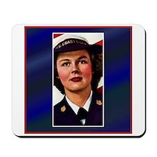 Vintage Coast Guard Mousepad