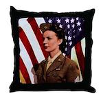 Vintage Army Throw Pillow