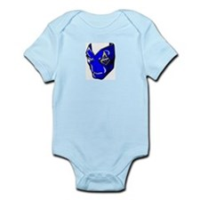 The Blue Mask Infant Creeper