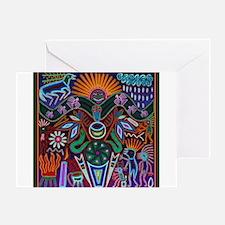 Chapala Huichol Greeting Card