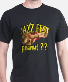new orleans jazz peanut Black T-Shirt
