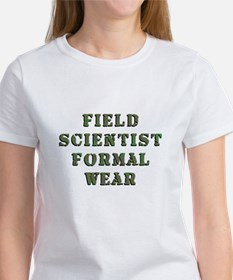 Field Scientist Formal Wear Women's T-Shirt