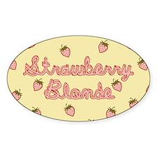 Strawberry Blonde Decal
